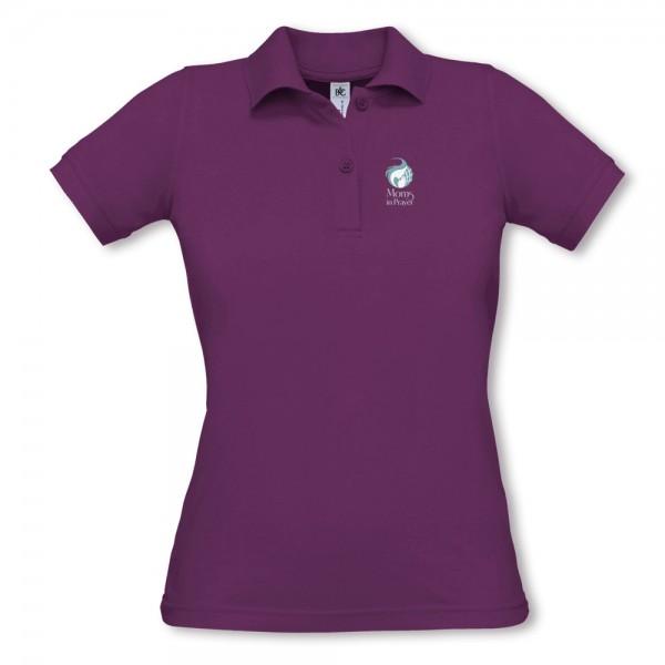 Damen Piqué Poloshirt 455
