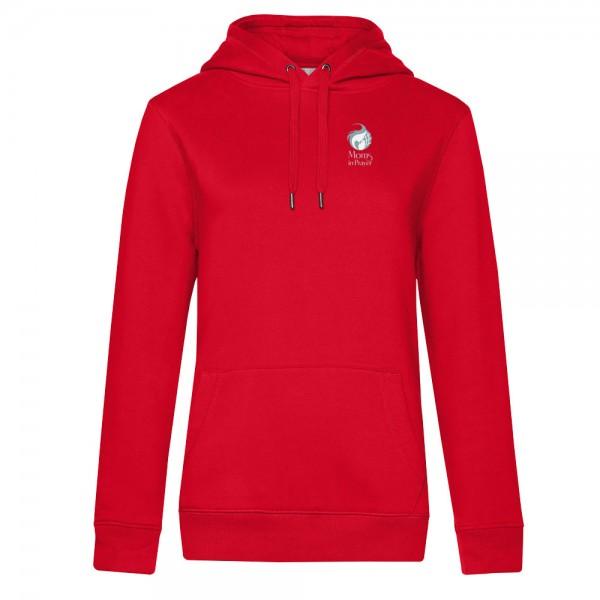 Damen Kapuzen-Sweater QUEEN Hooded